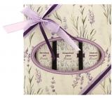 Bohemia Herbs Lavender Lenandule koupelová lázeň 250 ml + sprchový gel 200 ml + vlasový šampon 200 ml, kosmetická sada