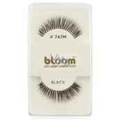 Bloom Natural nalepovacie riasy z prírodných vlasov obloučkové čiernej č. 747M 1 pár