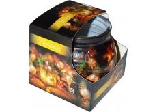 Admit Christmas Latarnia aromatická sviečka v skle 80 g