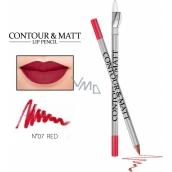 Reverz Contour & Matt Lip Pencil kontúrovacia ceruzka na pery 07 Red 2 g