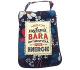 Albi Skladacia taška na zips do kabelky s menom Bára 42 x 41 x 11 cm