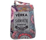 Albi Skladacia taška na zips do kabelky s menom Věrka 42 x 41 x 11 cm