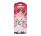 Albi Anjelik strážníček - Anjelik šťastie prívesok 8,5 cm