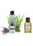 Jeanne en Provence Men Lavande & vetiver - Lavande & Citrónová tráva 2v1 sprchový gel 250 ml + toaletná voda 100 ml pre mužov kozmetická sada