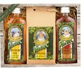 Bohemia Gifts Pivrnec sprchový gél 100 ml + soľ do kúpeľa 150 g + šampón na vlasy 100 ml