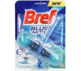 Bref Blue Aktiv Eucalyptus WC blok pro hygienickou čistotu a svěžest Vaší toalety, obarvuje vodu do modrého odstínu 50 g