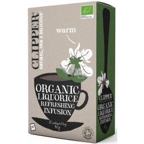Clipper Organic sladkovkový bylinný čaj protizápalový 20 x 2 g
