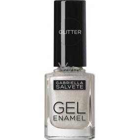 Gabriella salva Gél Enamel lak na nechty 12 Silver 11 ml