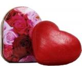 Kappus Srdce luxusní mýdlo s přírodními oleji dárkové v dóze 20 g