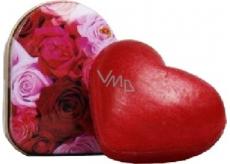 Kappus Srdce luxusné mydlo s prírodnými olejmi darčekové v dóze 20 g