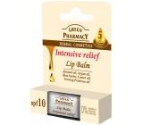 Green Pharmacy Intensive Relief 5 Oils Intenzívne úľava výživný balzam na pery s piatimi olejmi 3,6 g