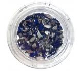 Professional Ozdoby na nechty kamienky kvapka modrej 132