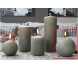 Lima Ľadová sviečka šedá gule 100 mm 1 kus