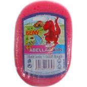 Abella Kids Beny koupelová houba 11 x 7 x 4 cm různé barvy 1 kus