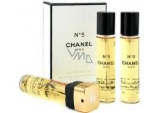 Chanel No.5 toaletná voda náplne pre ženy 3 x 20 ml