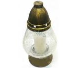 Lima Lampa skleněná Crystal 25 cm 100 g
