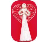 Anděl velký s proplétanými křídly 46 cm