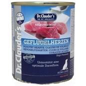 Dr. Clauders Hydinové srdce a mäso kompletné superprémiové krmivo pre dospelých psov obsahuje probiotiká - látky pre dobré trávenie 800 g