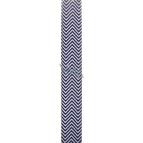 Nekupto Darčekový baliaci papier 70 x 150 cm Klasik modré vlnky