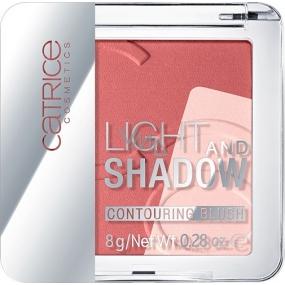 Catrice Light And Shadow Contouring Blush tvárenka 030 Rose propos 8 g