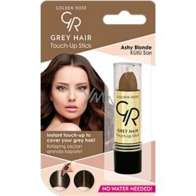 Golden Rose Gray Hair Touch-Up Stick farbiaci korektor na odrastené a šedivé vlasy 09 Ashy Blonde 5,2 g