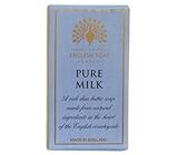 English Soap Pure Mléko Přírodní parfémované mýdlo s bambuckým máslem 200 g