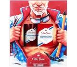 Old Spice White Water dezodorant oceľ sprej 150 ml + voda po holení 100 ml, kozmetická sada