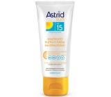 Astrid Sun OF15 zmatňujúci pleťový krém na opaľovanie 75 ml