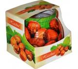 Admit Hazelnut Lieskový oriešok dekoratívne aromatická sviečka v skle 80 g