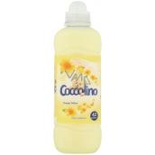 Coccolino Happy Yellow koncentrovaná aviváž s dlouhotrvající vůní po vyprání 42 dávek 1,05 l