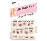 Nail Accessory 3D nálepky na nechty 1 aršík 10100 NG003