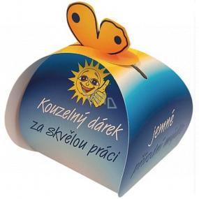 Čarovný darček Jemné prírodné mydlo z rastlinných olejov za skvelú prácu 50 g
