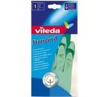 Vileda Standard rukavice gumové M střední 1 pár