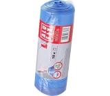 Alufix Premium Sáčky do odpadkového koša zaťahovacej modré 35 litrov, 53 x 60 cm, 15 kusov