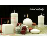 Lima Zimní třpyt Intimity vonná svíčka krychle 65 x 65 mm 1 kus