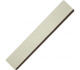 Pilník na nechty plochý biely 17,5 cm 5312