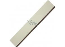 Pilník na nehty plochý bílý 17,5 cm 5312