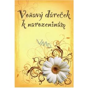 Bohemia Gifts & Cosmetics Vonný sáček Voňavý dáreček Rosarium k narozeninám 17 x 11,5 x 1,5 cm
