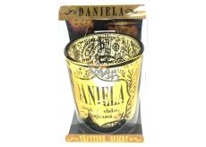 Albi Trblietavý svietnik zo skla na čajovú sviečku DANIELA, 7 cm
