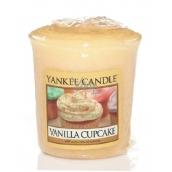 Yankee Candle Vanilla Cupcake - Vanilkový košíček vonná sviečka votívny 49 g