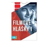 Albi Kvízy do vrecka filmový hlášky 50 kariet, vek: 12 +