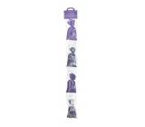Esprit Provence Levanduľový vonný vrecúško 4 kusy, darčeková sada fialové kvietky