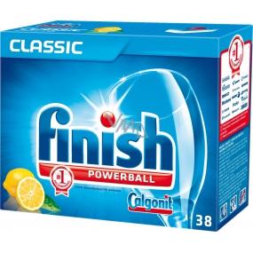 Calgonit Finish Classic Pre-soaking Aciton Lemon tablety do umývačky 38 kusov