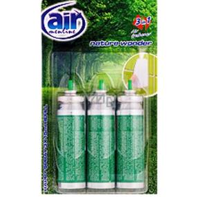 Air menłinu Nature Wonder Happy Osviežovač vzduchu náhradná náplň 3 x 15 ml sprej