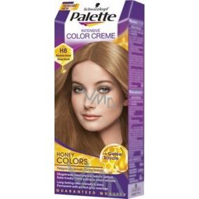 medově hnědá barva na vlasy
