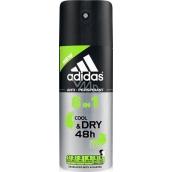 Adidas Cool & Dry 48h 6v1 antiperspirant deodorant sprej pre mužov 150 ml