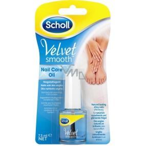 Scholl Velvet Smooth Blue olej na nehty 7,5 ml