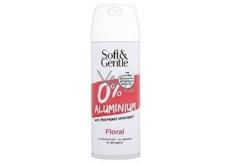 Soft & Gentle Floral Svěží růže Antiperspirant deodorant sprej pro ženy150 ml