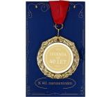 Albi Papierové prianie do obálky Prianie s medailí - 40 rokov W