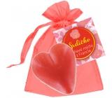 NeoCos Srdiečko červenej darčekovej mydlo v organze 30 g
